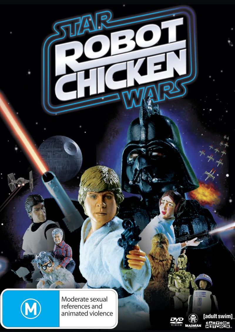 Robot Chicken: Star Wars Special - Episode 1 on DVD image