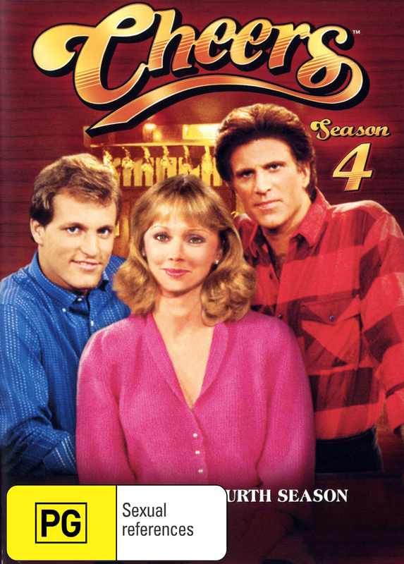 Cheers - Complete Season 4 on DVD