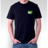 Breaking Bad Wire Black T-Shirt (Large)