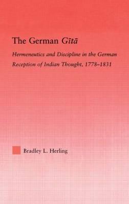 The German Gita by Bradley L Herling image