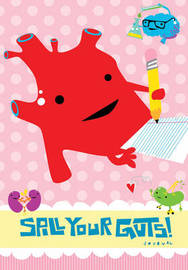 Spill Your Guts Journal by Wendy Bryan image