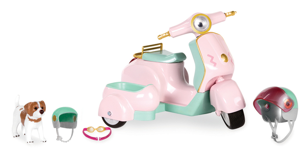 Lori: Pet-Time Scooter with Sidecar