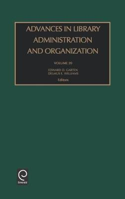 Advances in Library Administration and Organization image