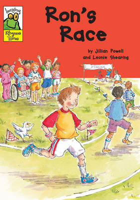 Leapfrog Rhyme Time: Ron's Race by Jillian Powell