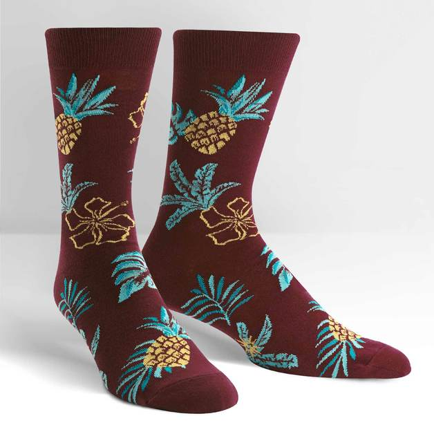 Men's - Hawaiian Sock Day Crew Socks