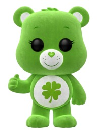 Care Bears - Good Luck Bear (Flocked) Pop! Vinyl Figure (LIMIT - ONE PER CUSTOMER)