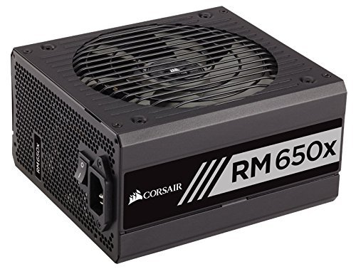 Corsair RMx Series RM650x Fully Modular 80+ Gold Power Supply