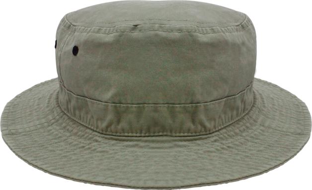 Black Ice: Bruce Bucket Hat - Khaki