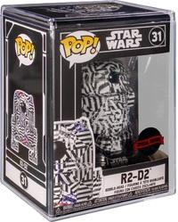 Star Wars - R2-D2 (Futura) Pop! Vinyl Figure + Protector image