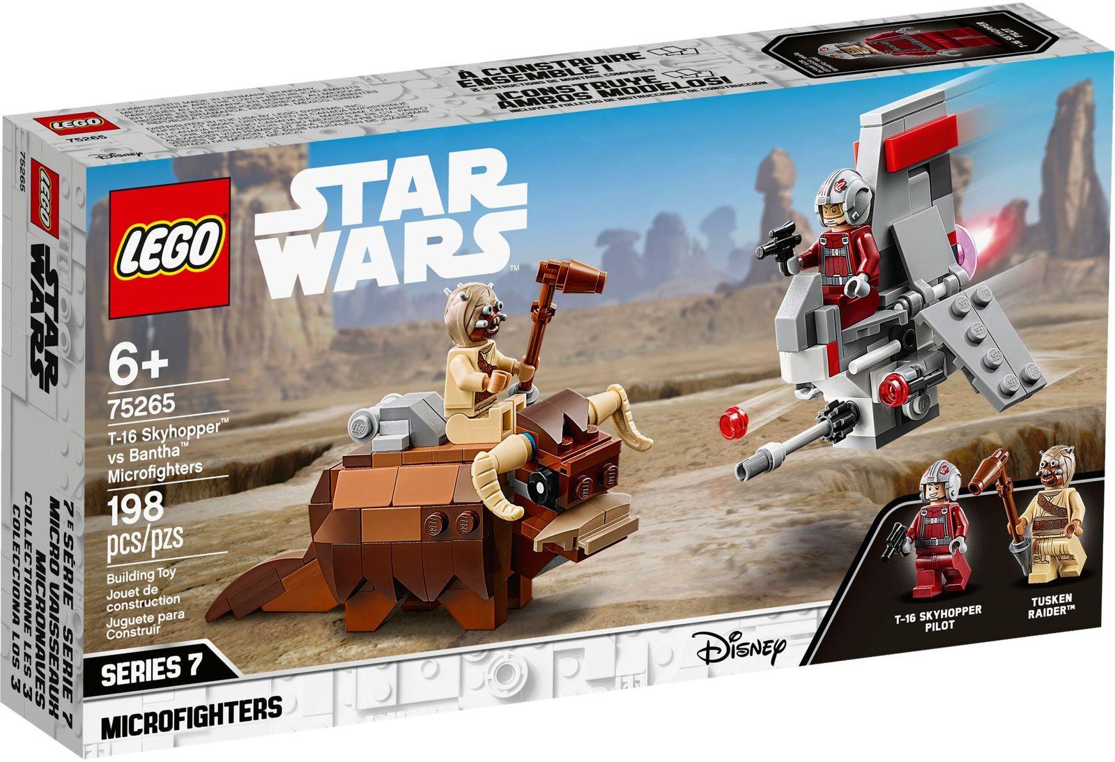 LEGO Star Wars - T-16 Skyhopper vs Bantha image