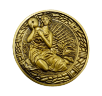 Resident Evil 2: Collectable Medallion - Maiden