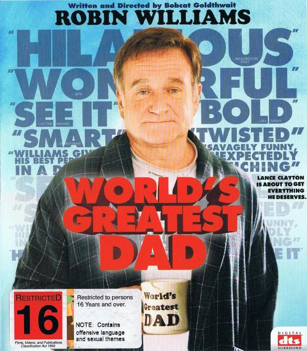 World's Greatest Dad on Blu-ray