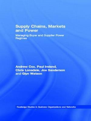 Supply Chains, Markets and Power by Andrew Cox image