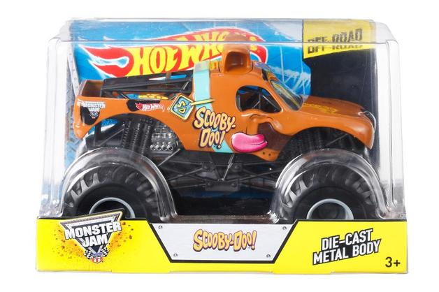 Hot Wheels Monster Jam: 1:24 Scale Diecast Vehicle - Scooby Doo