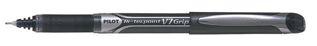 Pilot Hi-Tec V7 Grip Fine Tip Rollerball Pen - Black