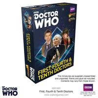 Doctor Who: The First, Fourth & Tenth Doctors