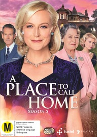 A Place To Call Home - Complete Season 5 on DVD image