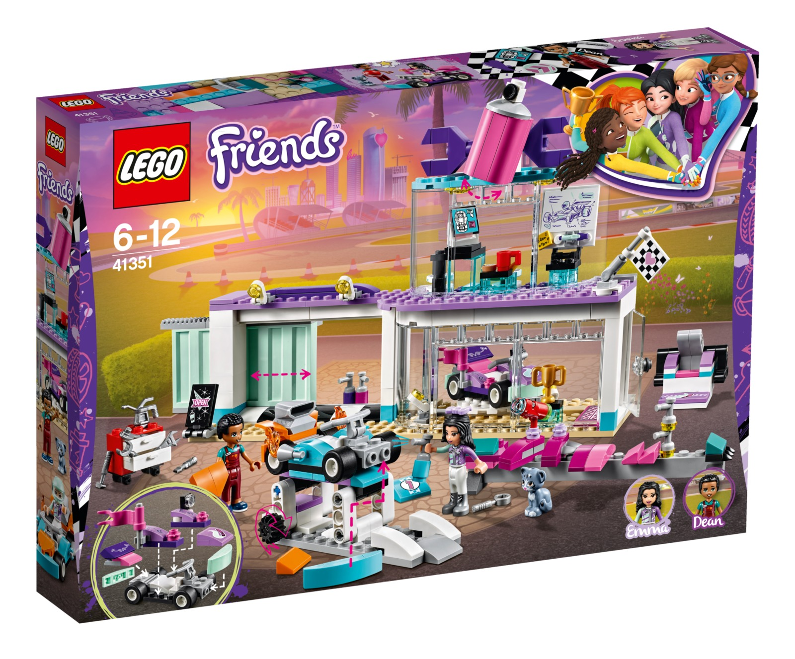 LEGO Friends - Creative Tuning Shop (41351) image