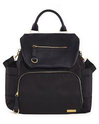 Skip Hop: Chelsea Downtown Chic Backpack - Black