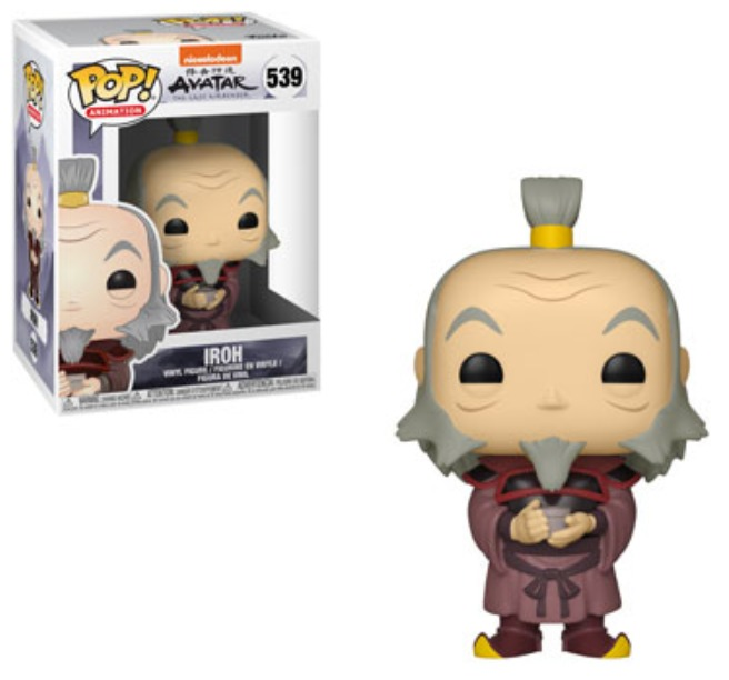 Avatar - Iroh (with Tea) Pop! Vinyl Figure image