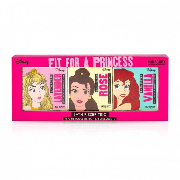 Mad Beauty: Disney Princess Bath Fizzer Trio