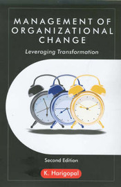 Management of Organizational Change by K. Harigopal image