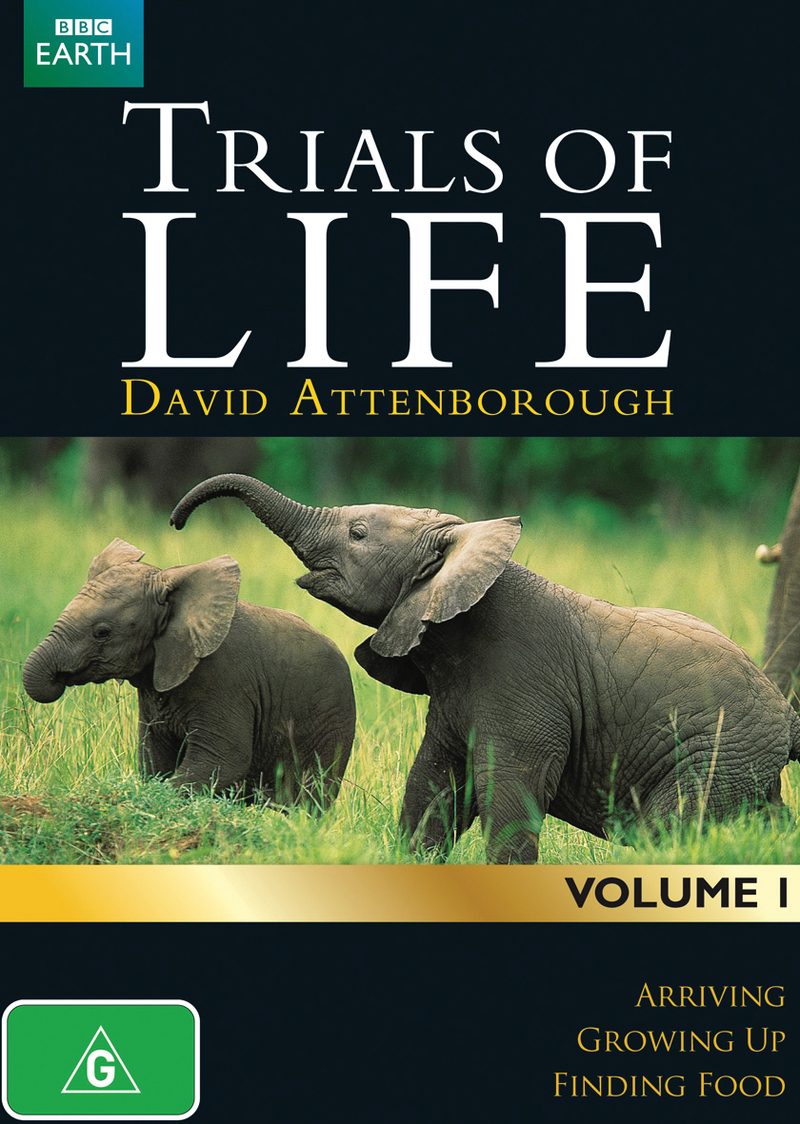 Trials of Life - Volume 1 on DVD image