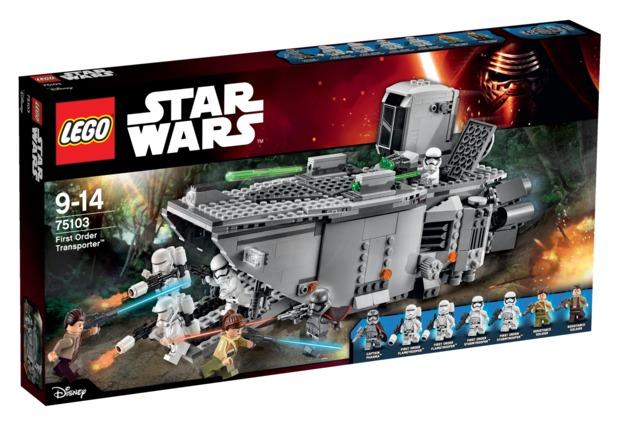 LEGO Star Wars: First Order Transporter (75103)