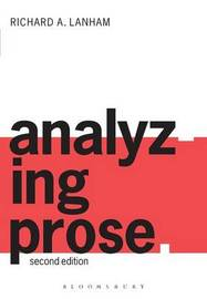 Analyzing Prose by Richard A. Lanham image