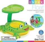 Intex: Froggy Friend - Shaded Baby Float
