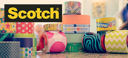 25% off Scotch Decorative Tapes