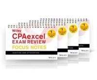 Wiley CPAexcel Exam Review January 2017 Focus Notes: Complete Set by Wiley
