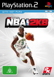 NBA 2K8 for PlayStation 2