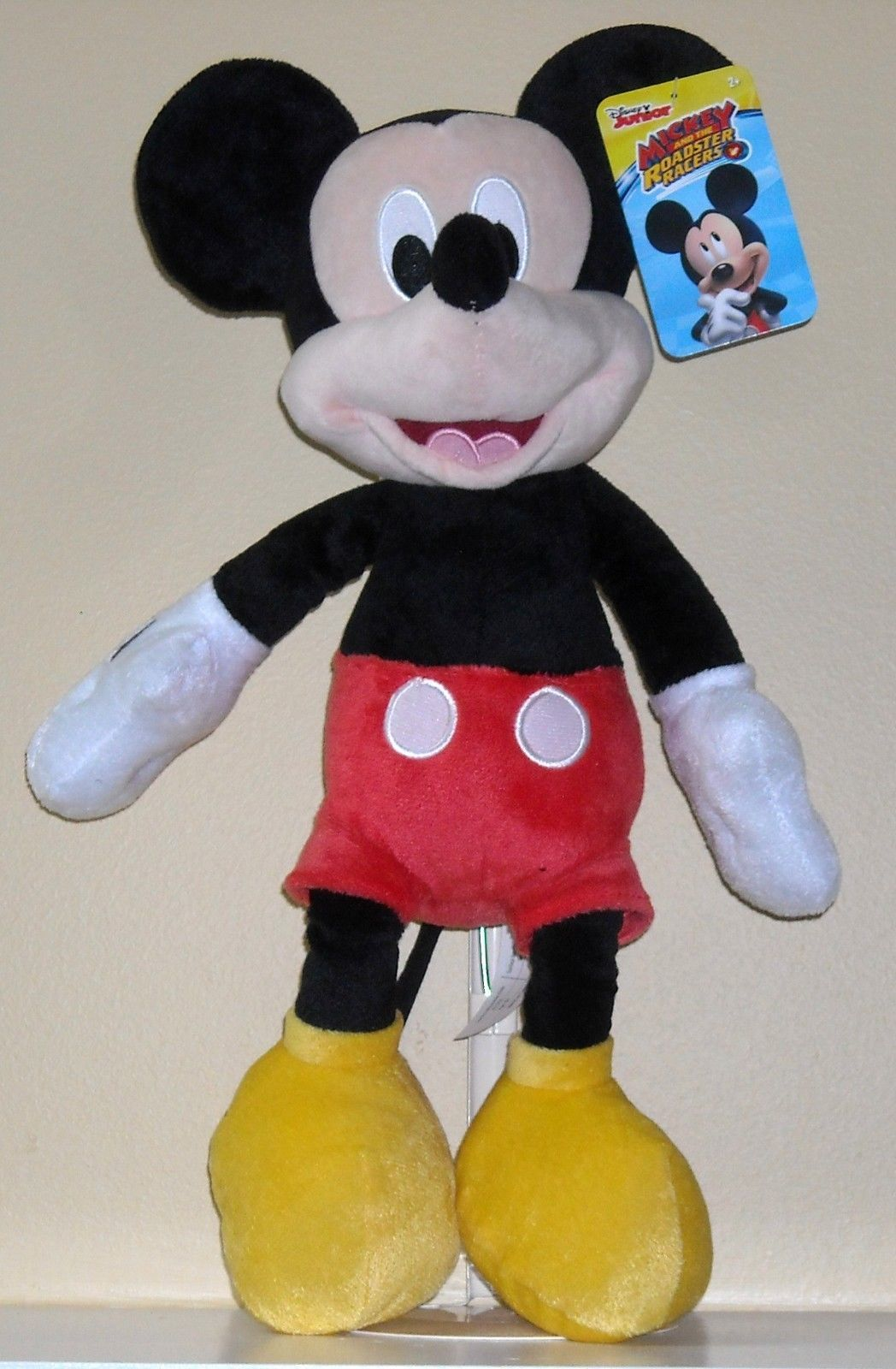 "Mickey Mouse Plush 15.5"" image"