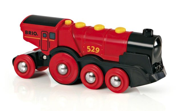 Brio: Railway - Mighty Red Locomotive
