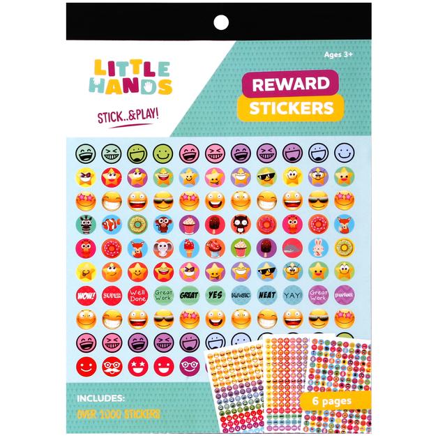 Little Hands: Reward Sticker Pad - A5