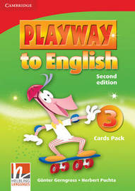Playway to English Level 3 Flash Cards Pack: Level 3 by Gunter Gerngross