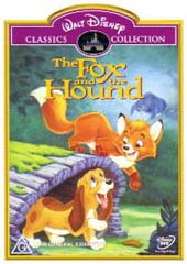 The Fox And The Hound (1981) on DVD