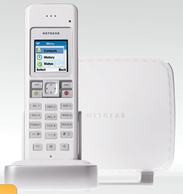 Netgear SPH200D Dual-mode Cordless Phone with  Skype image