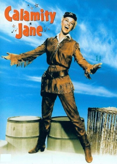 Calamity Jane on DVD