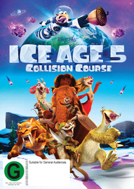 Ice Age 5: Collision Course DVD