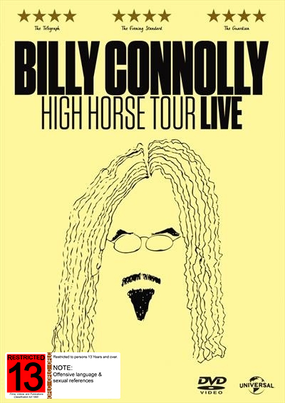 Billy Connolly: High Horse Live - 2016 on DVD image