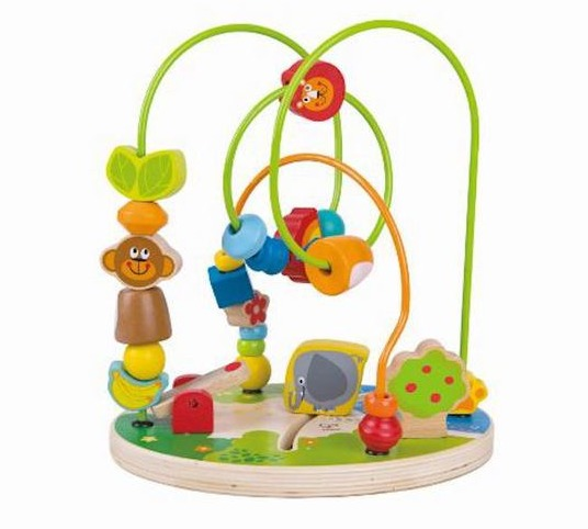 Hape: Zoo Time - Fun Bead Maze image
