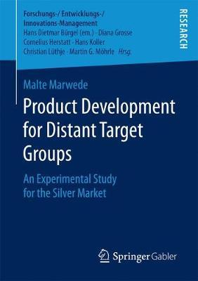 Product Development for Distant Target Groups by Malte Marwede