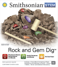 Smithsonian: Micro Science kits - Rock & Gem Dig Kit image