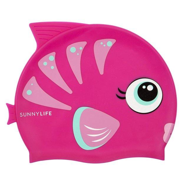 Sunnylife Swimming Cap - Fishy Pink