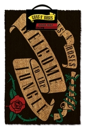 Guns N Roses Doormat - Welcome to the Jungle