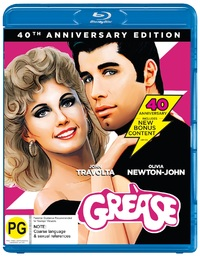 Grease - 40th Anniversary on Blu-ray