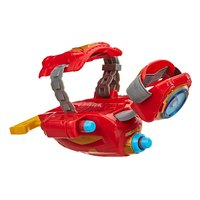 NERF Power Moves: Marvel Avengers Kids Roleplay Toy - Iron Man Repulsor Blast image