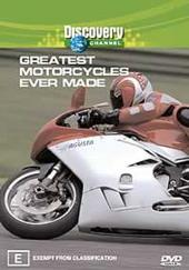 Greatest Motorcycles Ever Made on DVD